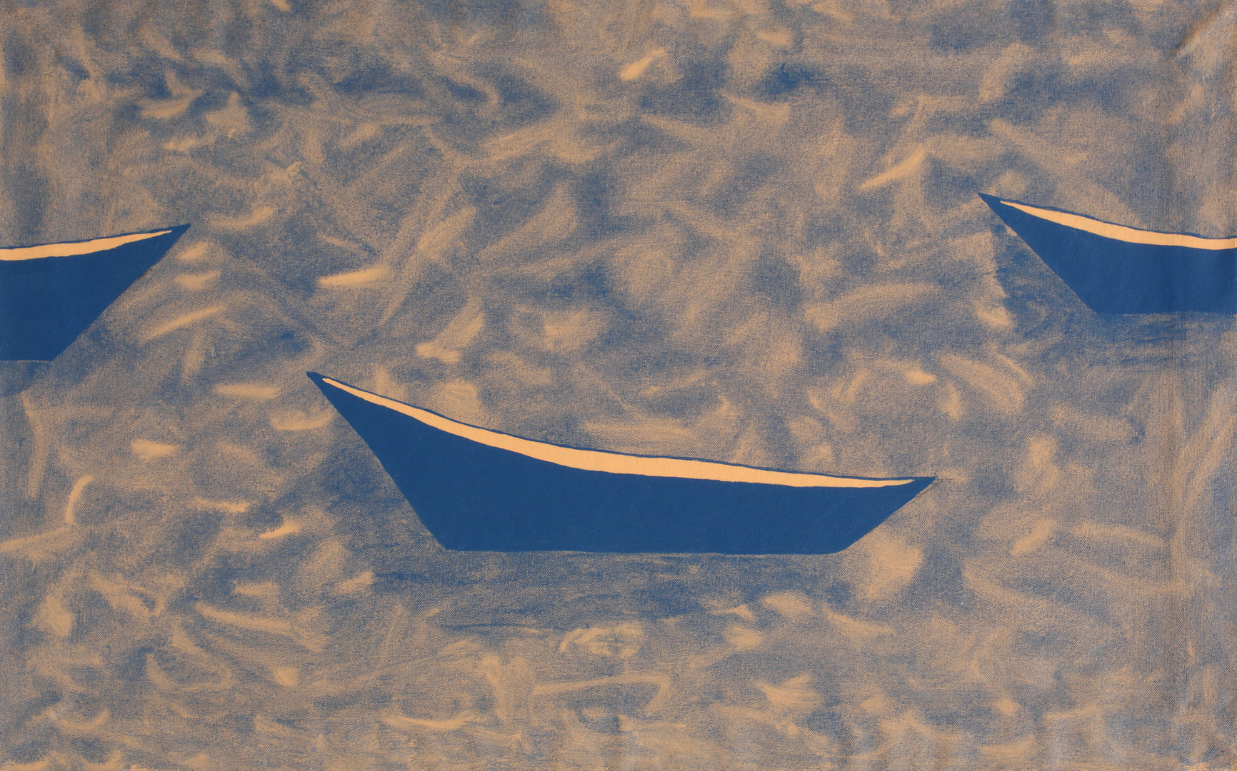 Rowboats on the Bay