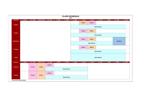 GKKW - Class Schedule 2021 (For Public)(