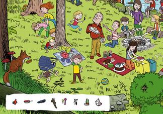 Wimmelbild WWF