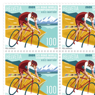 Briefmarke Post