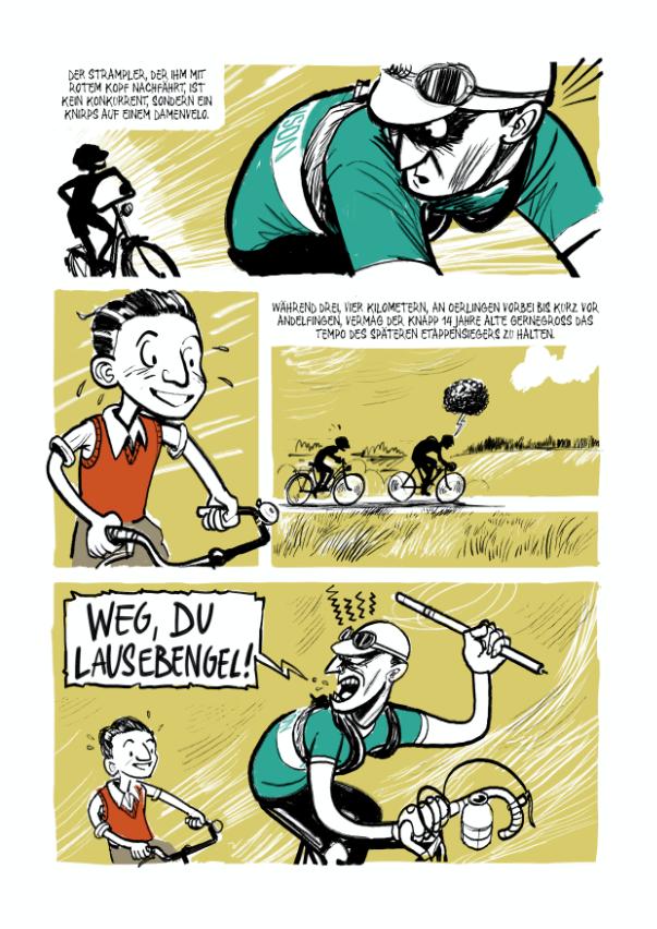 Ferdi Kübler Comic