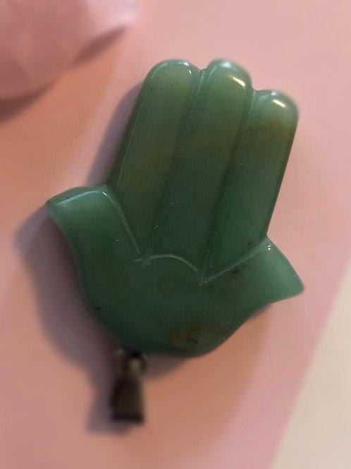 Hand of God Pendant (Jade)