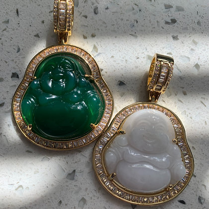 Happy Buddha Necklace