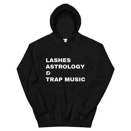 Lashes Astrology Trap Music Hoodie