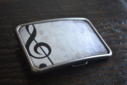 Treble Clef Buckle