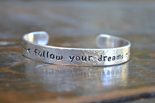 Follow Your Dreams Cuff