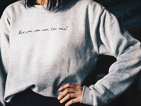 'Have you ever seen the rain?' Limited Edition Unisex Sweater