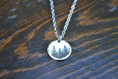 Stay Rooted Necklace 1/2 inch