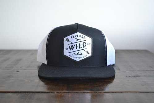 The Wild Blue Snap Back Hat