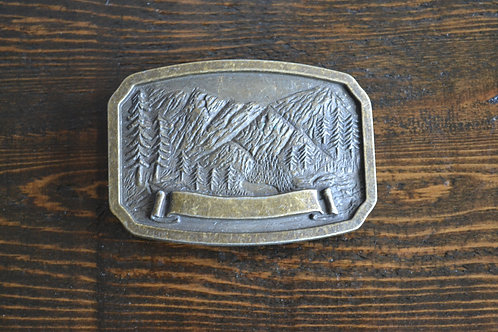 In the Mountains Buckle