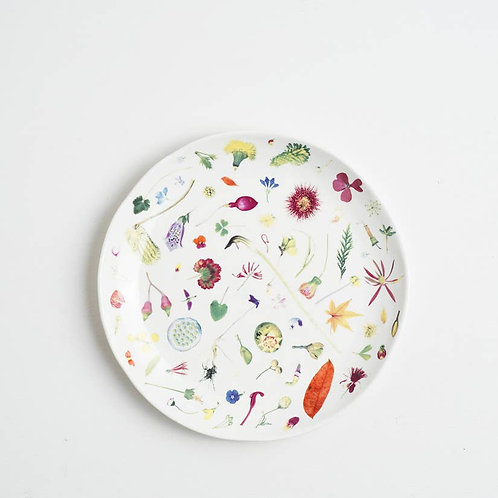 Floral Forager Dinner Plate