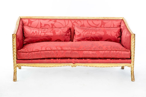 20th Century Medici Sofa in Bergamo Fabric