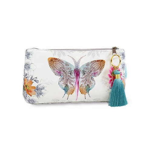 Small Pouch - Paisley Butterfly