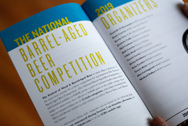 Festival of Barrel-Aged Beer // Booklet Design