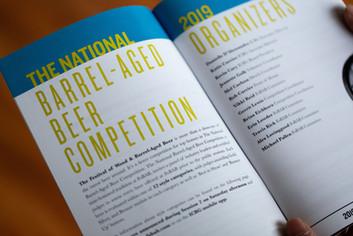 Festival of Barrel-Aged Beer // Booklet Design