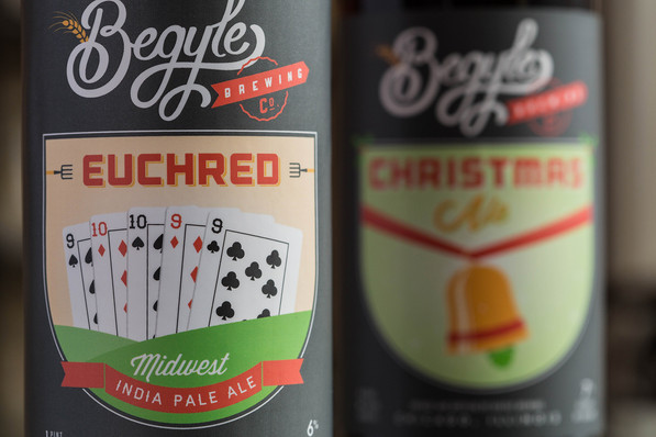 Begyle Brewing // Label Designs