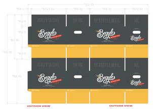 Begyle Brewing // Carton Design
