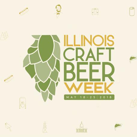 Illinois Craft Beer Week // Rebrand