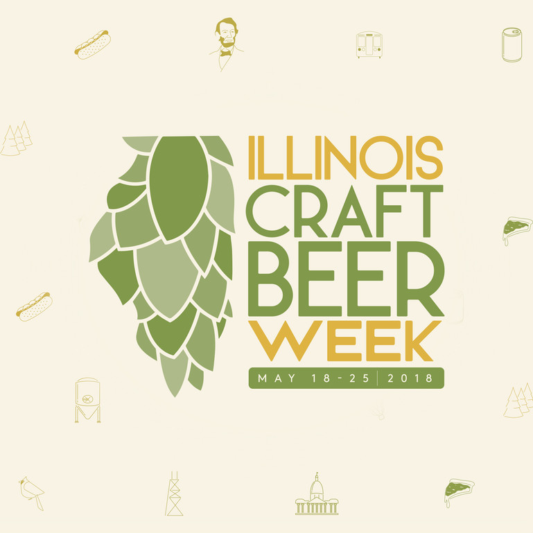 Illinois Craft Beer Week // Rebrand