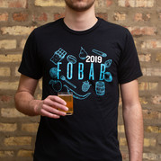 Festival of Barrel-Aged Beer // T-shirt Design