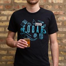 Festival of Barrel-Aged Beer // T-shirt Design