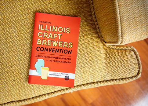 Illinois Craft Brewers Conference // Booklet Design
