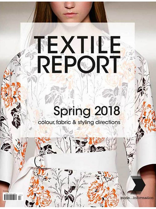 Textile Report no. 1/2017 S / S 2018