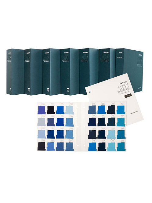 PANTONE Fashion & Home Cotton Swatch Library + 210 new colors