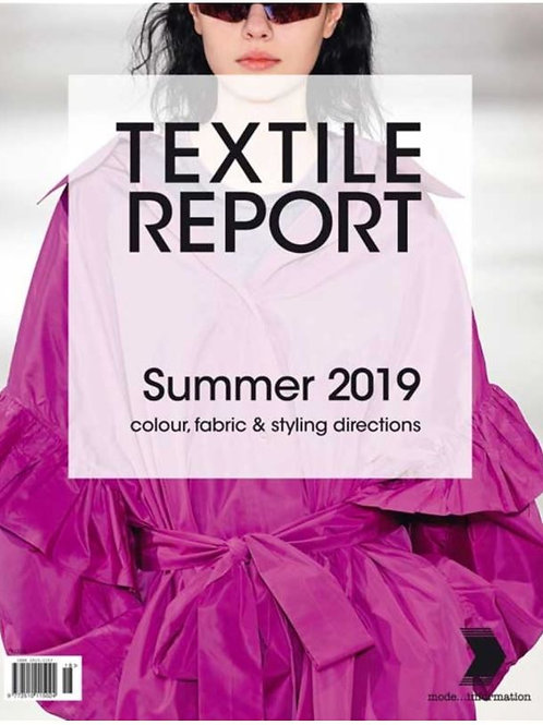 TEXTILE REPORT NO. 2/2018 - SUMMER 2019
