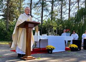 Outdoor Parish Feast Day Mass