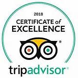 2019 Tripadvisor certificate of excellen