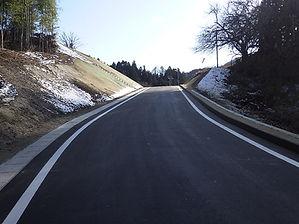 福島県二本松市 道路改良