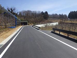 福島県 二本松市 道路改良工事