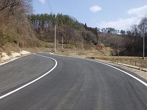 福島県二本松市 道路