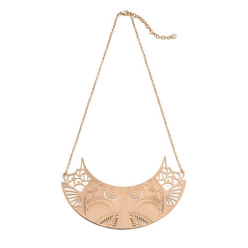 Petals Rose Gold Necklace