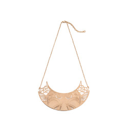 'Petals' Rose Gold Necklace - £300