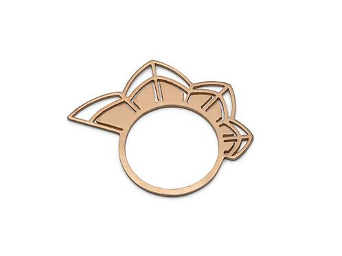 Petals Rose Gold Ring