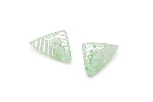 Ethereal Petal Stud Earrings