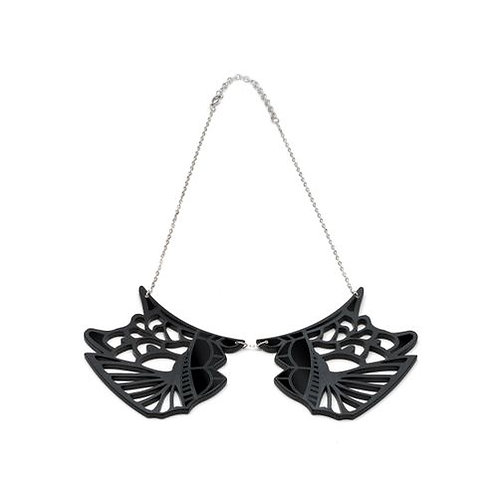 Irezumi Black Collar Necklace