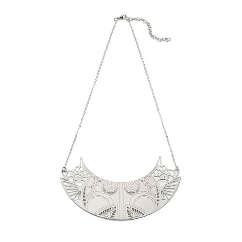 Petals Silver Necklace