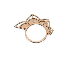 'Petals' Rose Gold Ring - £90