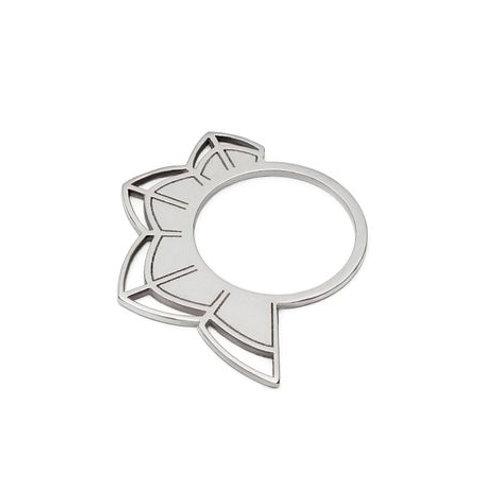 Petals Silver Ring
