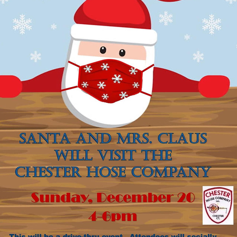 Drive-Thru Santa & Mrs. Claus Visit