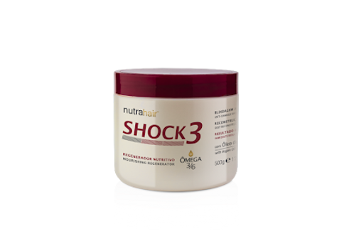 Regenerador Nutritivo Shock 3 Ômega 3 500gm