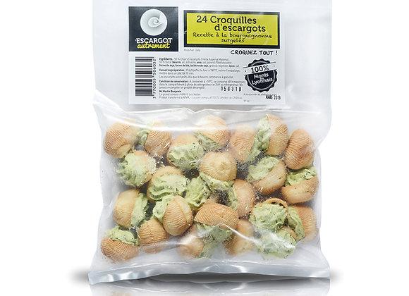 Croquilles d'escargots
