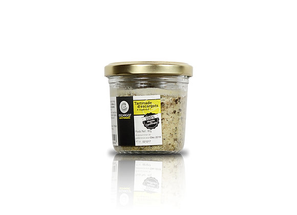 Tartinade d'escargots en pot 80gr