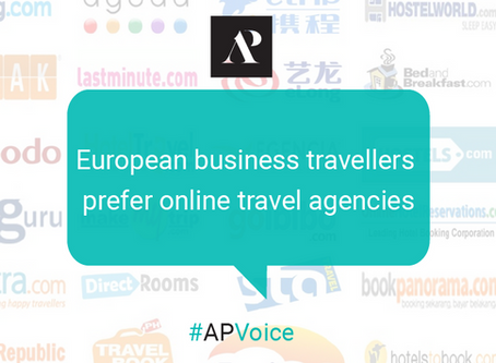 European business travellers prefer online travel agencies