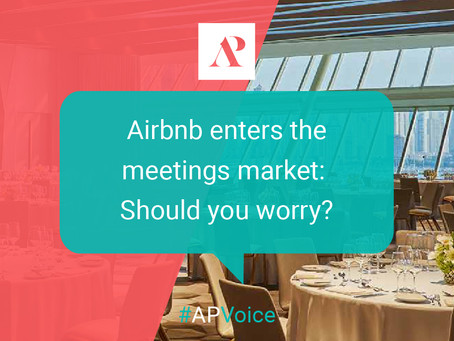 Airbnb enters the meetings market: Should you worry?