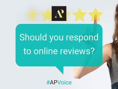 Should you respond to online reviews?