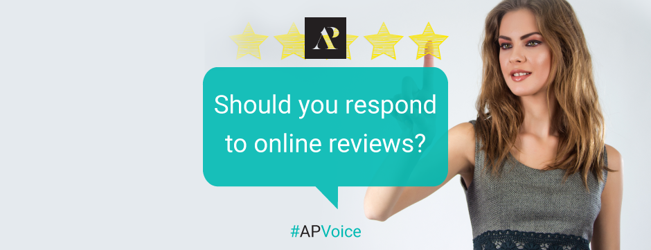 Should you respond to online reviews? - Amistad Partners Marketing